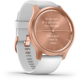 Garmin Vivomove Style Reloj Inteligente, rose gold/white